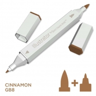 Spectrum Noir Illustrator Alcohol Marker - Cinnamon (GB8)