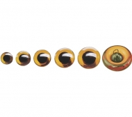 KPC Glass Eyes f.Animals 16mm 2 pcs