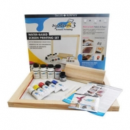 Daler Rowney System 3 Water Based Screen Printing Set
