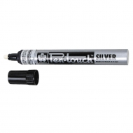 Sakura Pen Touch Silver Paint Marker Pen, Medium, 2 mm