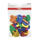 KPC stamp foam Letters and numbers 5 cm, 36 pcs