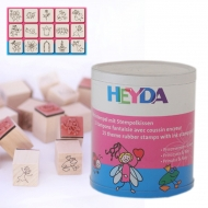 Heyda stamp 15+1 pc 87-Princess