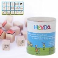Heyda stamp 15+1 pc 89-Football