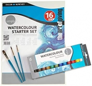 Daler Rowney Watercolour Starter Set 16 pcs