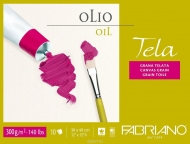 Fabriano Tela Oil Block 18 x 24, 300 gsm, 10 sheets
