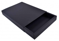 Box Made From a 300 gsm Black Card 22 x 32 x 4 cm  (А4)