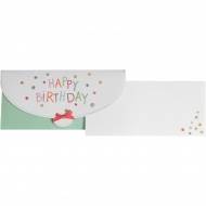 Cash/Vouchers Gift Envelope Stewo 23 x 11 cm - Noha - Happy Birthday