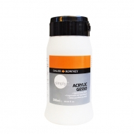 Daler Rowney White Gesso Primer : Simply : 500 ml