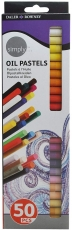 Daler Rowney Simply Oil Pastel 50 Colours