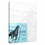 Rosa Paint by Numbers Acrylic Kit - Horse on the Water