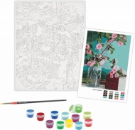 Rosa Paint by Numbers Acrylic Kit - Standart - Tender Flowers