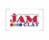 Polymer clay Jam Clay, Marshmallow (White), 20g