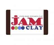 Polymer clay Jam Clay, Dark chocolate, 20g
