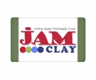 Polymer clay Jam Clay, Olive, 20g