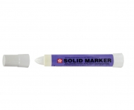 Sakura Solid Paint Marker - Solidified Paint Marker  (Mean Streak) White