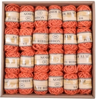 Orange Hemp Twine 2.5 mm, 5 m