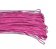 1 mm Violet Waxed Cotton Cord, Length 85 mm