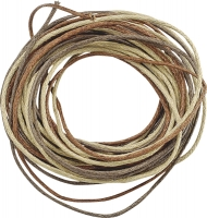 Knorr Prandell Waxed Jewellery Cord 1 mm 3 x 1.7 m  - Brown