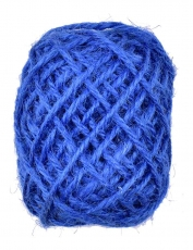 Blue Hemp Twine 1.5 mm, 10 m