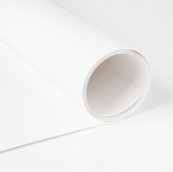 Heyda Texipap White Washable Leather-Look Paper 50 x 110 cm