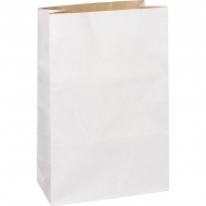 Decorative Paper Bag  White / Natural
