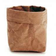Heyda Texipap Brown Washable Leather Look Paper 50 x 110 cm