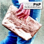 Heyda Texipap Silver Washable Leather Look Paper 48 x 110 cm