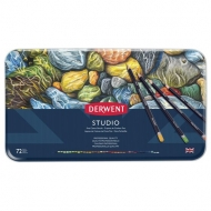 Derwent Studio Colouring Pencils, Set of 72, Professional Quality