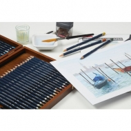 Derwent Watercolour Drawing Pencils Tin of 12