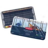 Derwent Watercolour Drawing Pencils Tin of 36