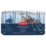 Derwent Watercolour Drawing Pencils Tin of 72