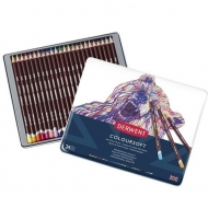 Derwent Coloursoft Colouring Pencils, Set of 24, Professional Quality