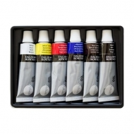 Oil Colour Paint Daler Rowney Simply Set of 6