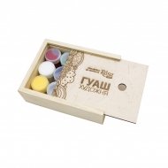 Gouache set rosa gouache 12*20 ml wooden box