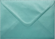 Turquoise Pearlescent Envelope C6 (114 mm x 162 mm) 115 gsm
