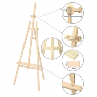 Pine Wood Easel Rosa No.41 A