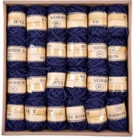 Dark Blue Hemp Twine 2.5 mm, 5 m