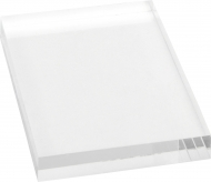 Transparent Acrylic Block for Clear Stamps 5 x 6 cm