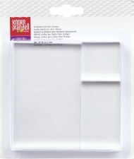 Set of 3 Transparent Acrylic Blocks for Clear Stamps