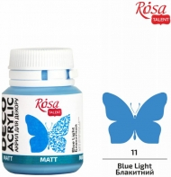 Rosa Matt Deco Acrylic Paint 20 ml - Blue