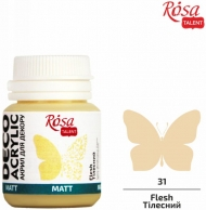 Rosa Matt Deco Acrylic Paint 20 ml - Beige