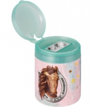 Brunnen Dual Sharpener with Container Mermaid