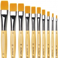 Da Vinci Series 304 Junior Flat Synthetic Brushes