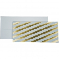 Cash/Vouchers Gift Envelope Stewo - Calderon Blue - Gold Stripes
