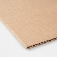 Three-ply Corrugated Cardboard 120 x 80 cm : Strong