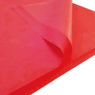 Red Gift Wrap Tissue Paper 50 x 75 cm