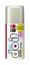 Marabu Do It  Transparent Spray Paint 150 ml Glitter Silver
