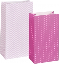 Heyda Paper Bags Mix PInk