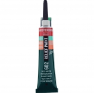 Talens Amsterdam Deco Relief Paint : Tube 20 ml :  Deep Green : 602