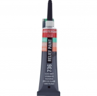 Talens Amsterdam Deco Relief Paint : Tube 20 ml : Lead Grey : 736